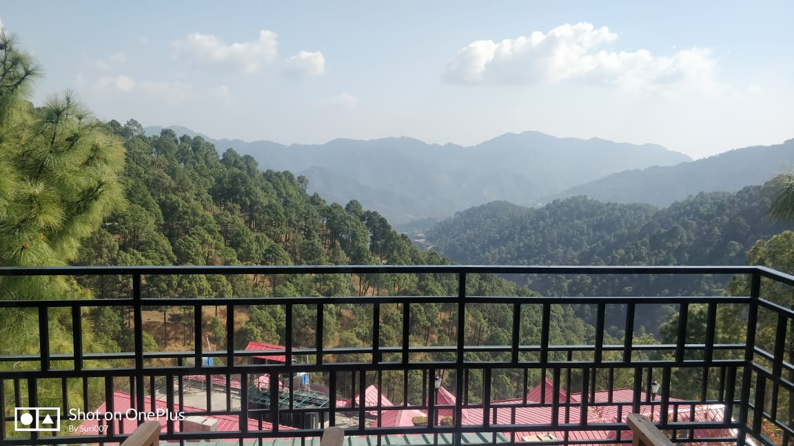 top view in kasauli
